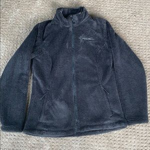 NWOT Eddie Bauer Bellingham Fleece-Charcoal Grey